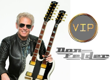 VIP Meet & Greet w/Don Felder