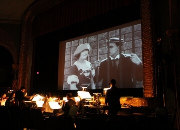 Christmas at the Silent Movies